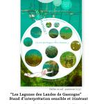 Nepsie - Les Lagunes des landes de Gascogne -Graphisme de supports pégagogique et sensibles