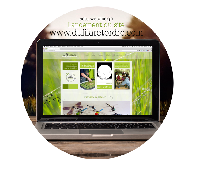 Nepsie - Graphiste et Illustratrice - Webdesign - www.dufilaretordre.com -  Graphiste tours