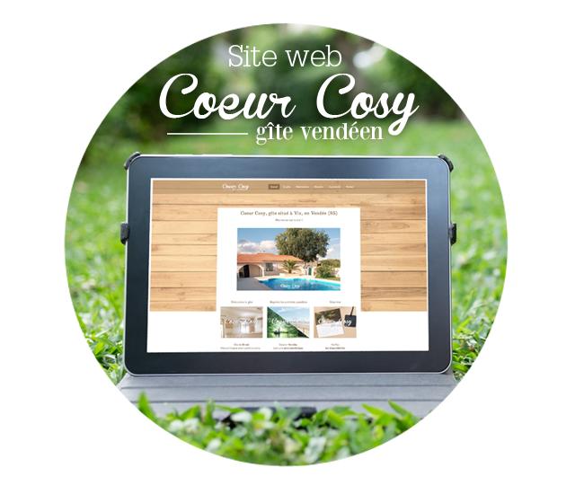 Site web - Graphiste Tours Indre et loire - Coeur Cosy