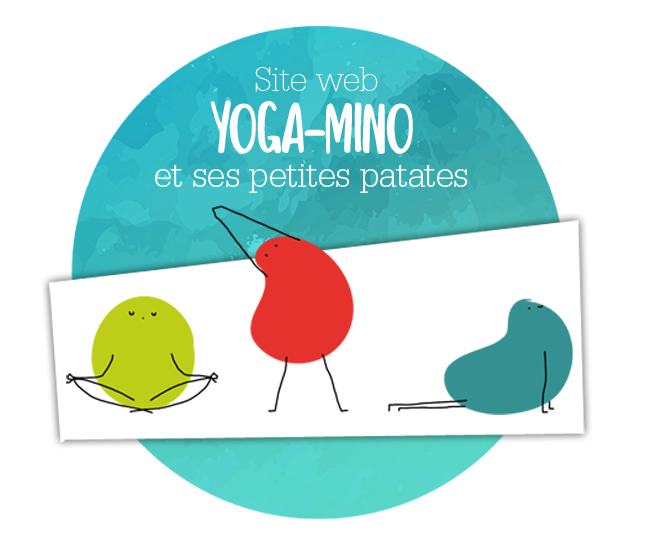 Yoga mino amboise enfant site internet  - Graphiste tours